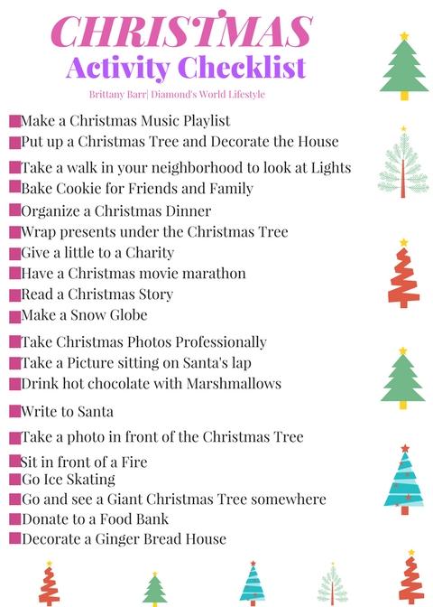 Christmas Checklist 1.1